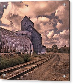 Road To Nowhere Acrylic Print by Jeff Burgess