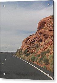 Road To Nowhere Acrylic Print