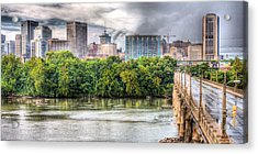 Road To Richmond Acrylic Print by JC Findley