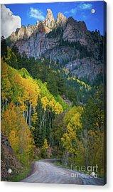 Road To Silver Mountain Acrylic Print