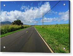 Road To Somewhere Acrylic Print by Jera Sky