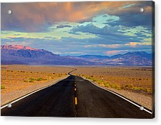 Road To The Dreams Acrylic Print by Evgeny Vasenev
