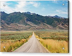 Road To The Rubies Acrylic Print by Todd Klassy