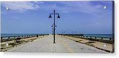 Acrylic Print featuring the photograph Road To The Sea by Paula Porterfield-Izzo