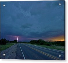 Road To The Storm Acrylic Print