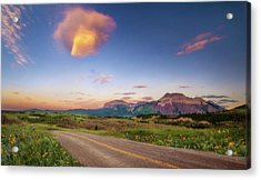 Road To Wherever Acrylic Print
