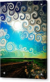 Road To Whimsy Acrylic Print