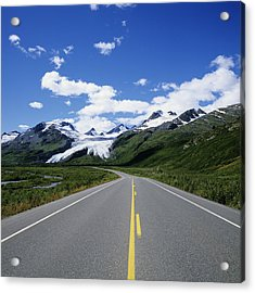 Road To Worthington Glacier Acrylic Print by Bill Bachmann - Printscapes