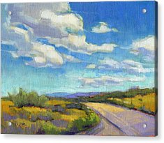 Acrylic Print featuring the painting Road Trip - Study by Konnie Kim