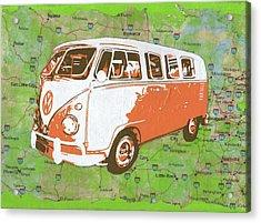 Road Trip No. 1 Acrylic Print