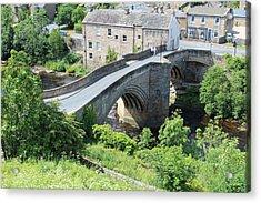 Roadbridge Over The River Tees Acrylic Print