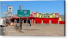 Roadkill Cafe, Route 66, Seligman Arizona Acrylic Print