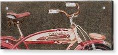 Roadmaster Acrylic Print by Glenda Zuckerman