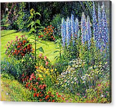 Roadside Garden Acrylic Print by Steve Spencer