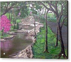 Roadside Park 1  Acrylic Print