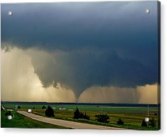 Acrylic Print featuring the photograph Roadside Twister by Ed Sweeney
