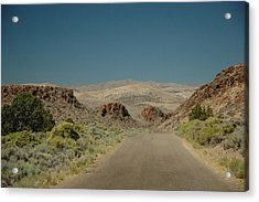 Roadway To Peace Acrylic Print by Lori Mellen-Pagliaro