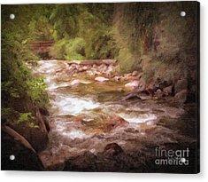 Roaring Fork River Acrylic Print