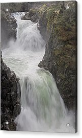 Acrylic Print featuring the photograph Roaring River by Randy Hall