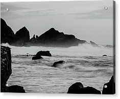 Roaring Seas Acrylic Print