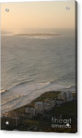 Robben Island Acrylic Print by Andy Smy