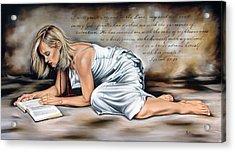 Robe Of Righteousness Acrylic Print by Ilse Kleyn