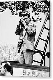 Robert Capa (1913-1954) Acrylic Print by Granger