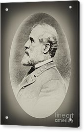 Robert E Lee - Csa Acrylic Print by Paul W Faust -  Impressions of Light