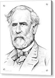 Robert E. Lee Acrylic Print by Greg Joens