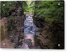 Robert H. Treman State Park Canal 2 Ithaca Ny Acrylic Print