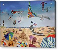 Robert Moses Beach Acrylic Print by Bonnie Siracusa
