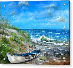 Robert Moses Beach Acrylic Print