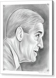 Robert Mueller Acrylic Print