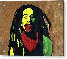 Robert Nesta Marley Acrylic Print