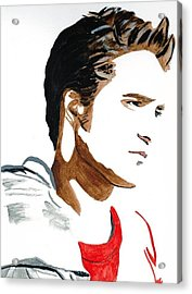 Robert Pattinson 17 Acrylic Print