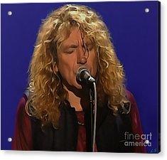 Robert Plant 001 Acrylic Print