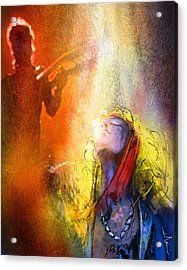 Robert Plant And Jimmy Page 02 Acrylic Print