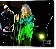 Robert Plant And The Sensational Space Shifters.6 Acrylic Print by Tanya Filichkin