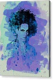 Robert Smith Cure Acrylic Print by Naxart Studio