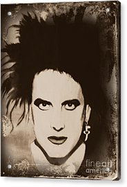 Robert Smith The Cure Acrylic Print