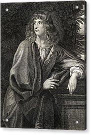 Robert Spencer 2nd Earl Of Sunderland Acrylic Print