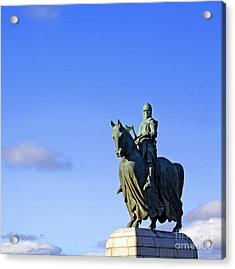 Acrylic Print featuring the photograph Robert The Bruce King Of Scots  by Craig B