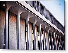 Robertson Hall At Princeton University Acrylic Print by Ryan Kelly