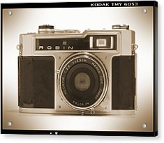 Robin 35mm Rangefinder Camera Acrylic Print