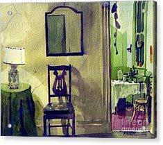 Robin's Chair Acrylic Print by Donald Maier