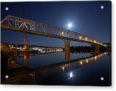 Rochester-monaca Bridge Acrylic Print by Thomas DiVittis