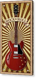 Rock And Roll 335 Acrylic Print by WB Johnston