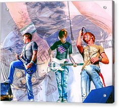 Rock And Roll Band Version 1 Acrylic Print by Randy Steele