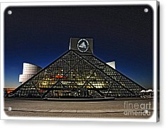 Rock And Roll Hall Of Fame - Cleveland Ohio - 5 Acrylic Print