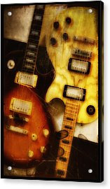 Rock And Roll Never Forgets Acrylic Print by Bill Cannon